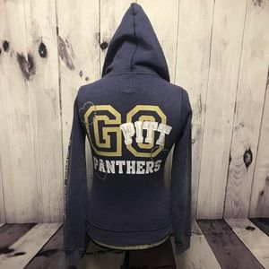 Victoria's Secret Pink Pitt Panthers XS Hoodie